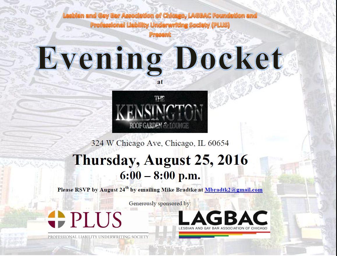 evening docket